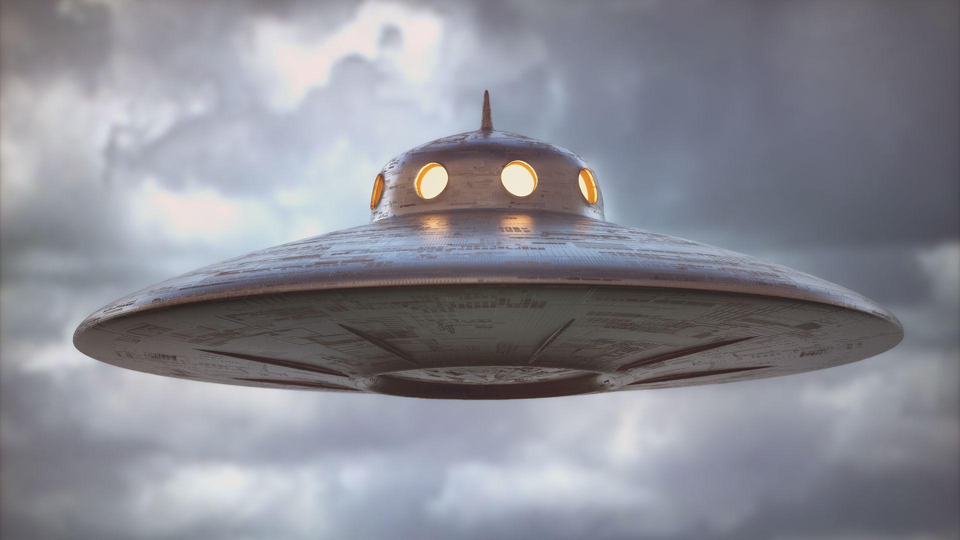 Kocka alaku UFO-észlelés Texas egén
