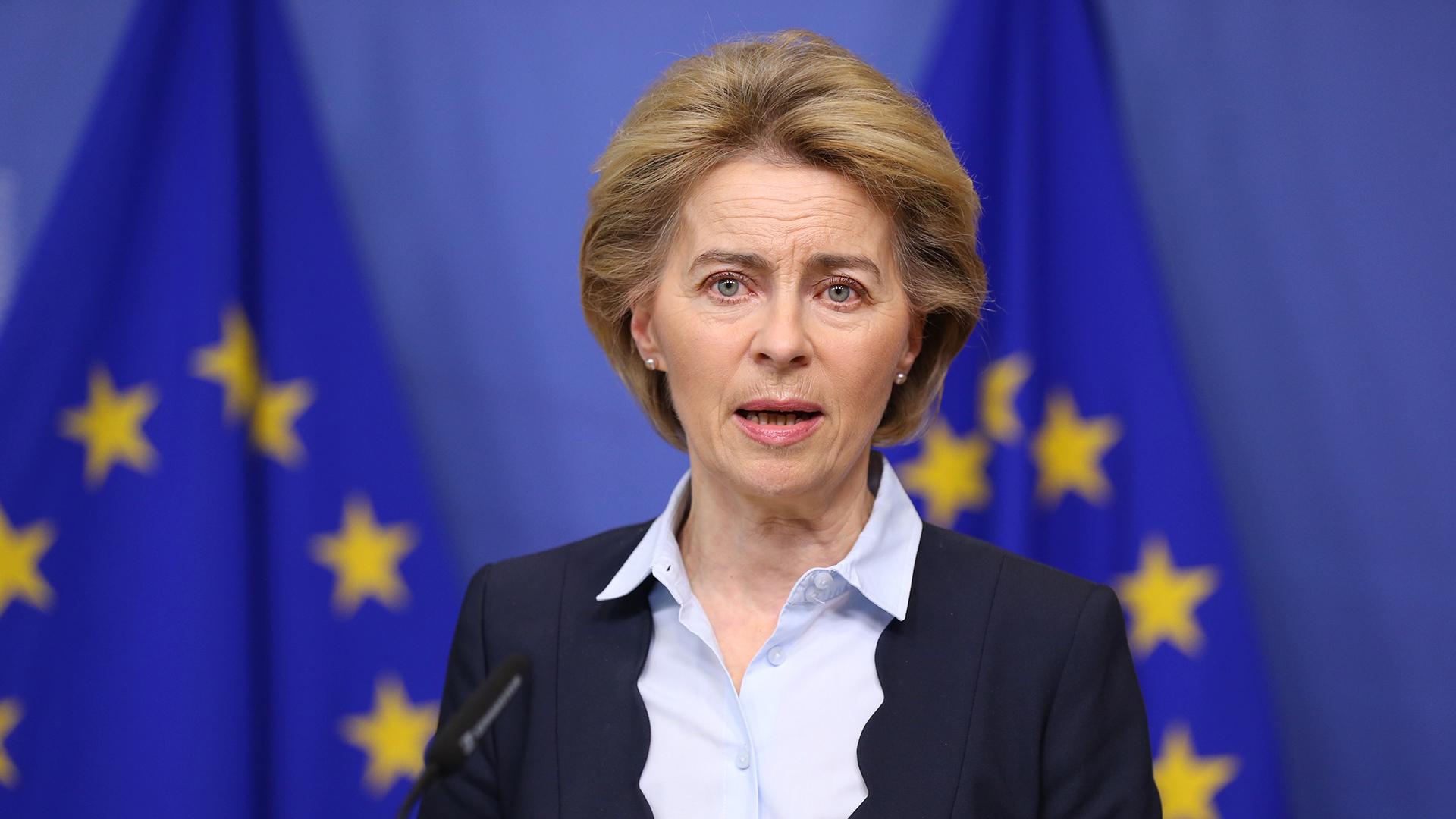 Ursula von der Leyen a twitteren jelentette be, hogy lezárhatják az európai unió határait