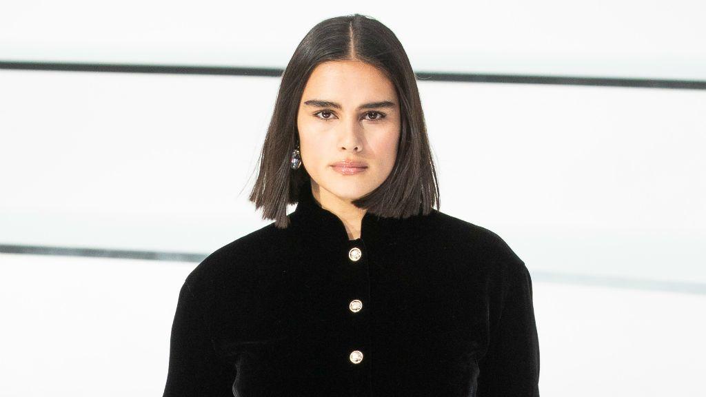 Jill Kortleve plus size modell Chanel
