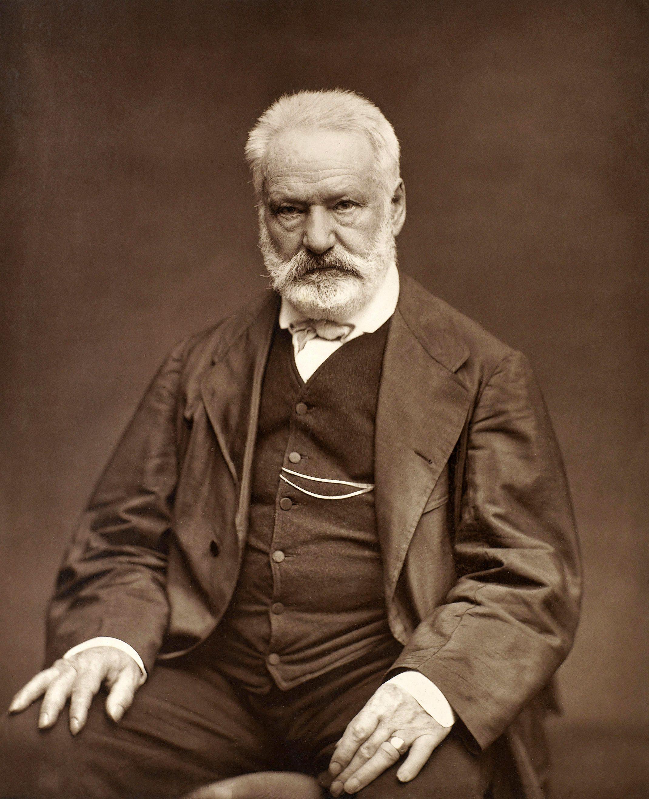 Az idős Victor Hugo (fotó: Wikipedia)
