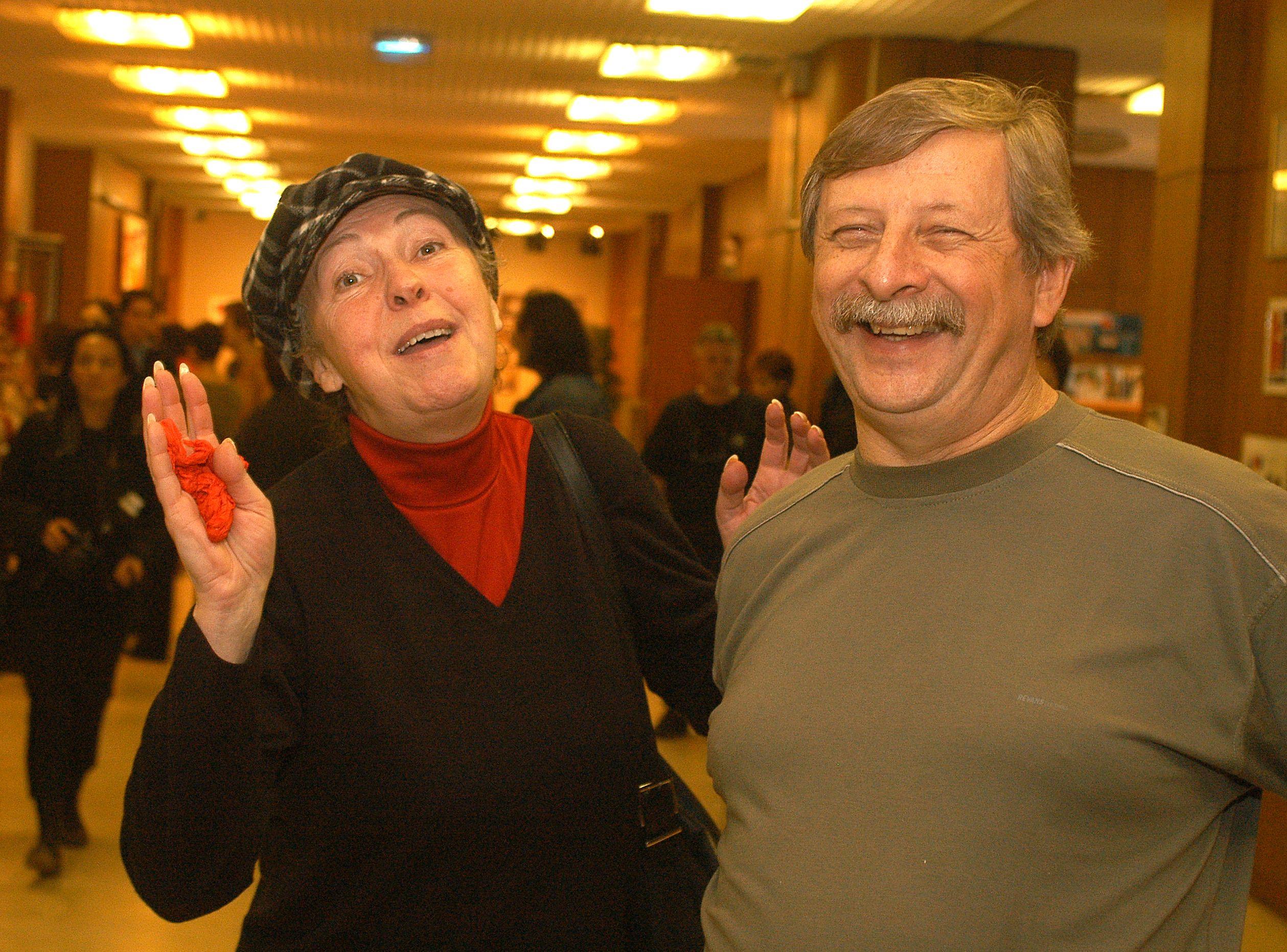 Várkonyi András és Fodor Zsóka így néztek ki 16 évvel ezelőtt (Fotó: smagpix)