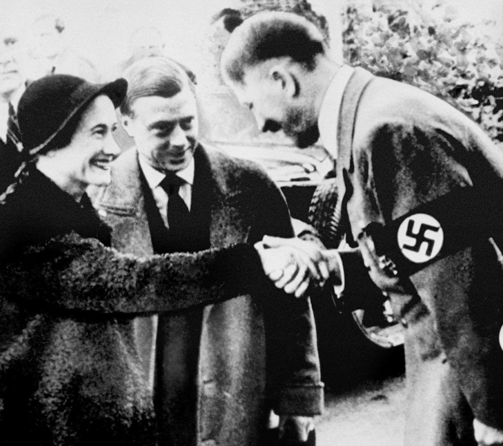 Wallis Simpson és VIII. Eduárd találkozik Adolf Hitlerrel (Fotó: IanDagnall Computing/Alamy/Profimedia)