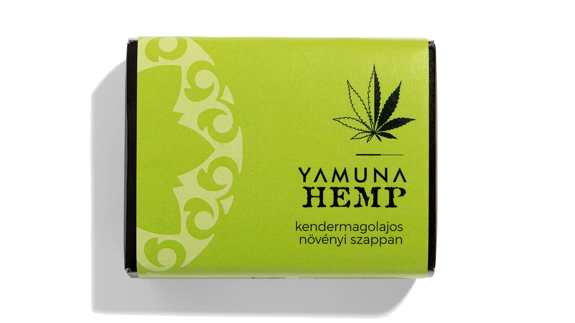YAMUNA - HEMP Kendermagolajos növényi szappan