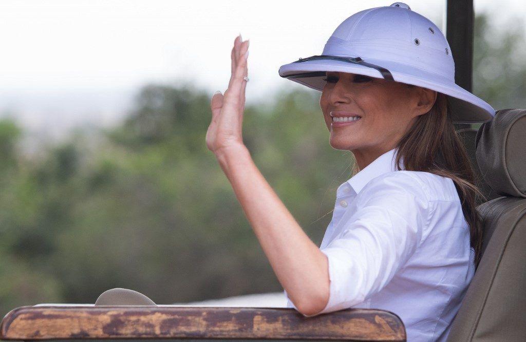 A first lady szafarin
