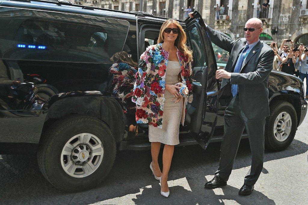 A first lady Szicíliában