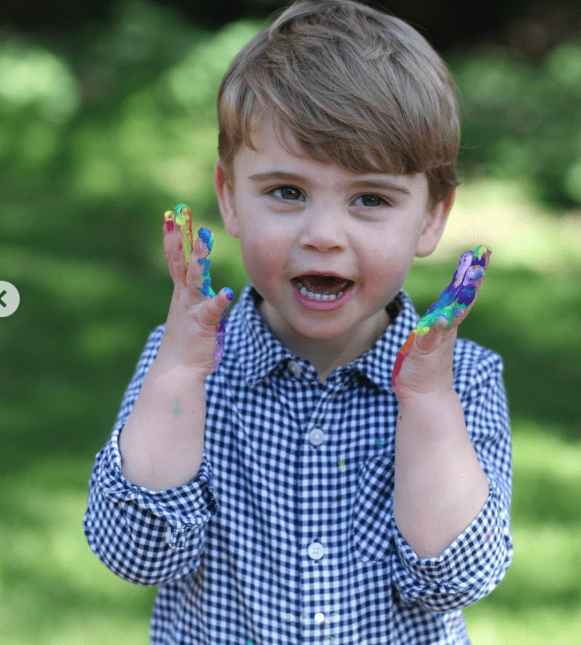 Lajos herceg Vilmos és Katalin legfiatalabb gyermeke.