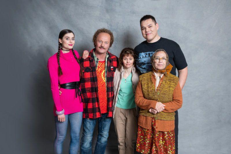 A főszerepben: Stohl András és Stefanovics Angéla (középen) - Forrás: TV2