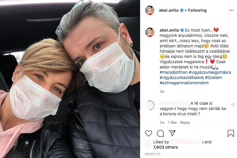Ábel Anita és Roberto Favaro a kapcsolatuk elején úgy döntöttek, nyilvánosság elé állnak, hogy ne kelljen bújkálniuk