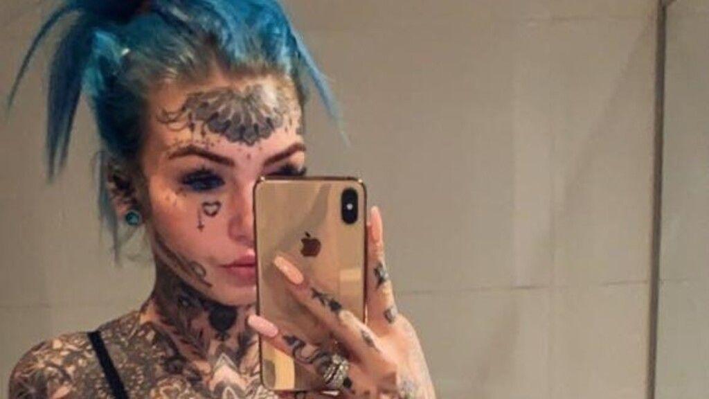 Így nézett ki korábban a most tetoválásokkal borított Amber