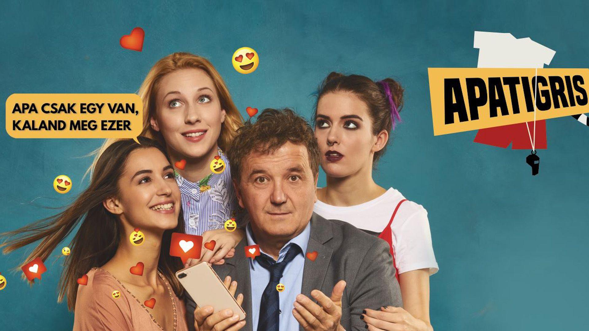 Az Apatigris főszereplői - Fotó: RTL Klub