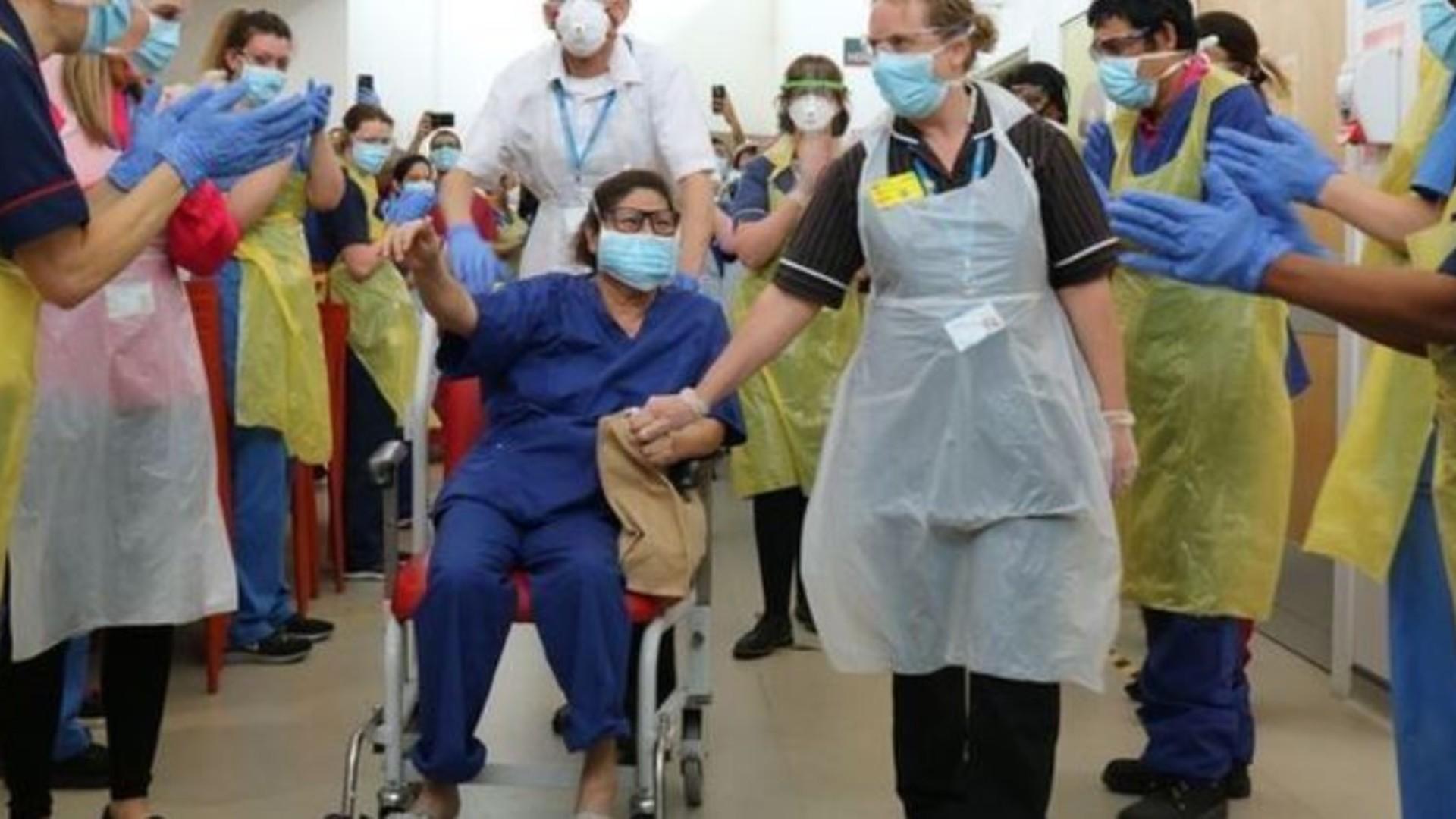 ápolónő koronavírus gyógyulás