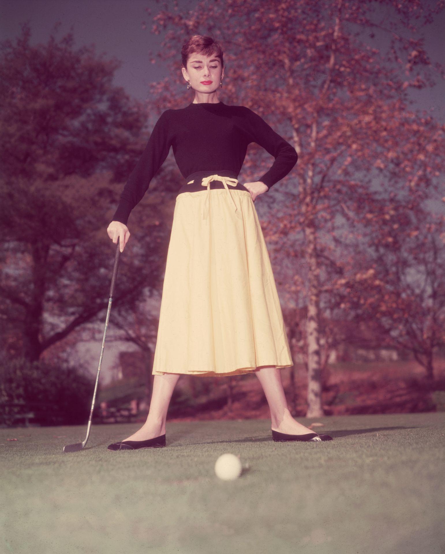 Audrey Hepburn tökéletes megtestesítője volt a gamine stílusnak.