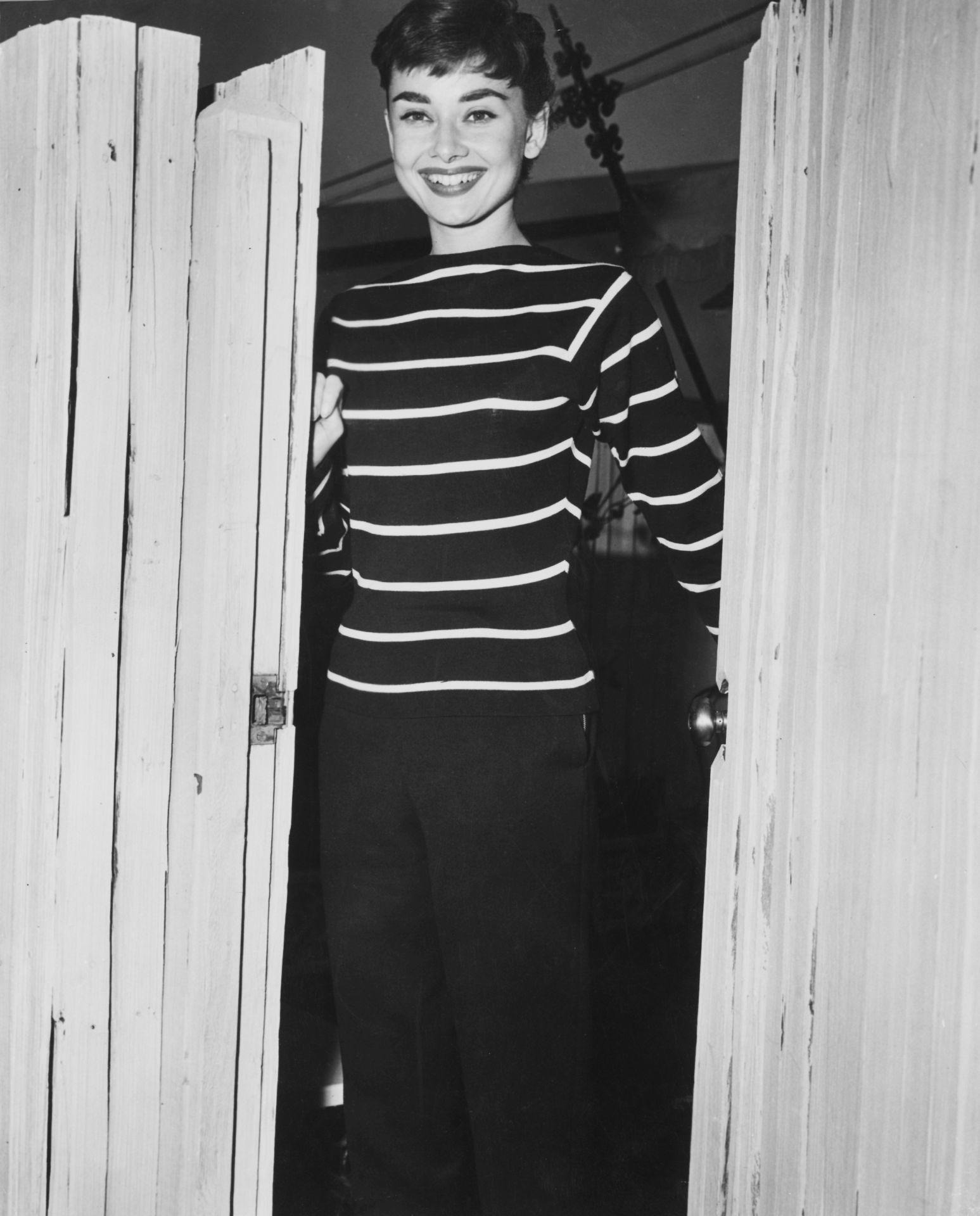 Actress Audrey Hepburn és a gamine stílus kéz a kézben járt.