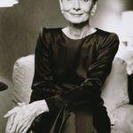 Audrey Hepburn fotója 1990 környékéről.