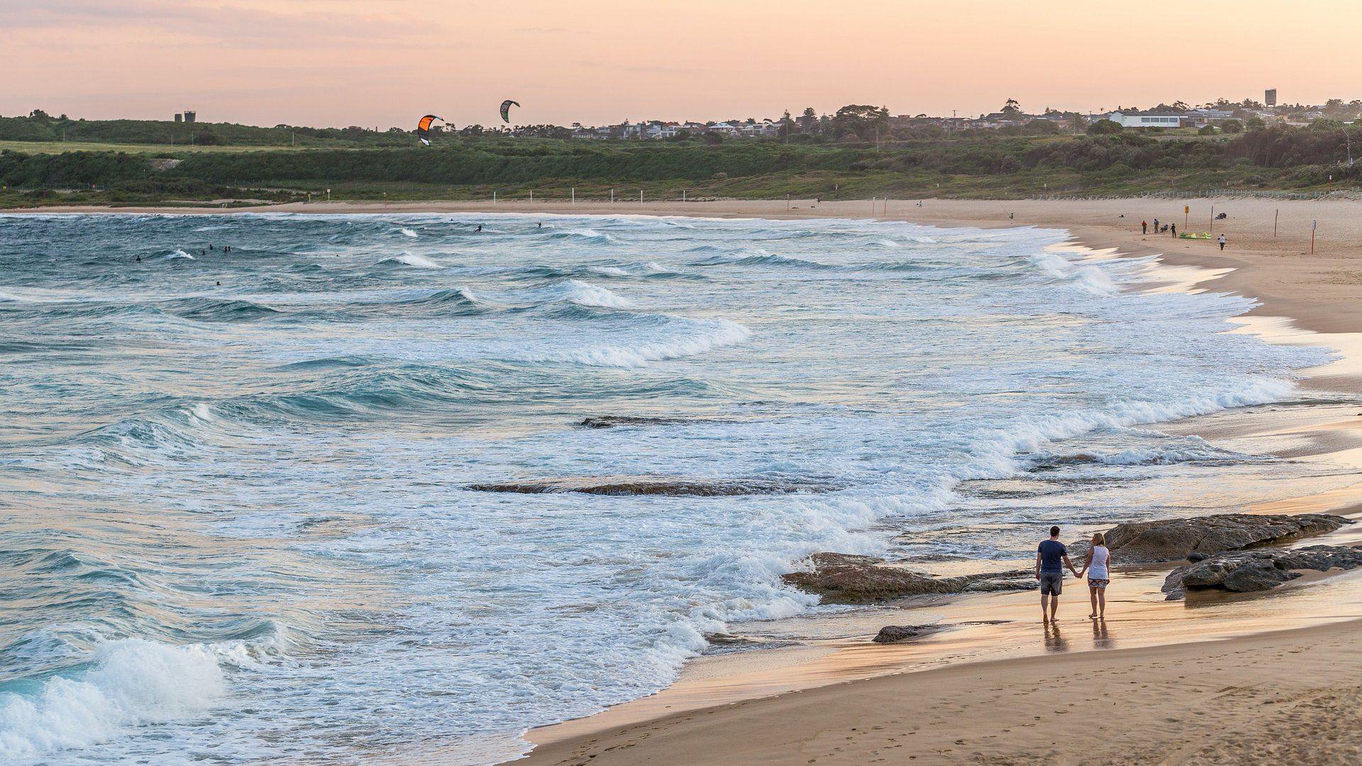 ausztrália strand albérlet üzenet