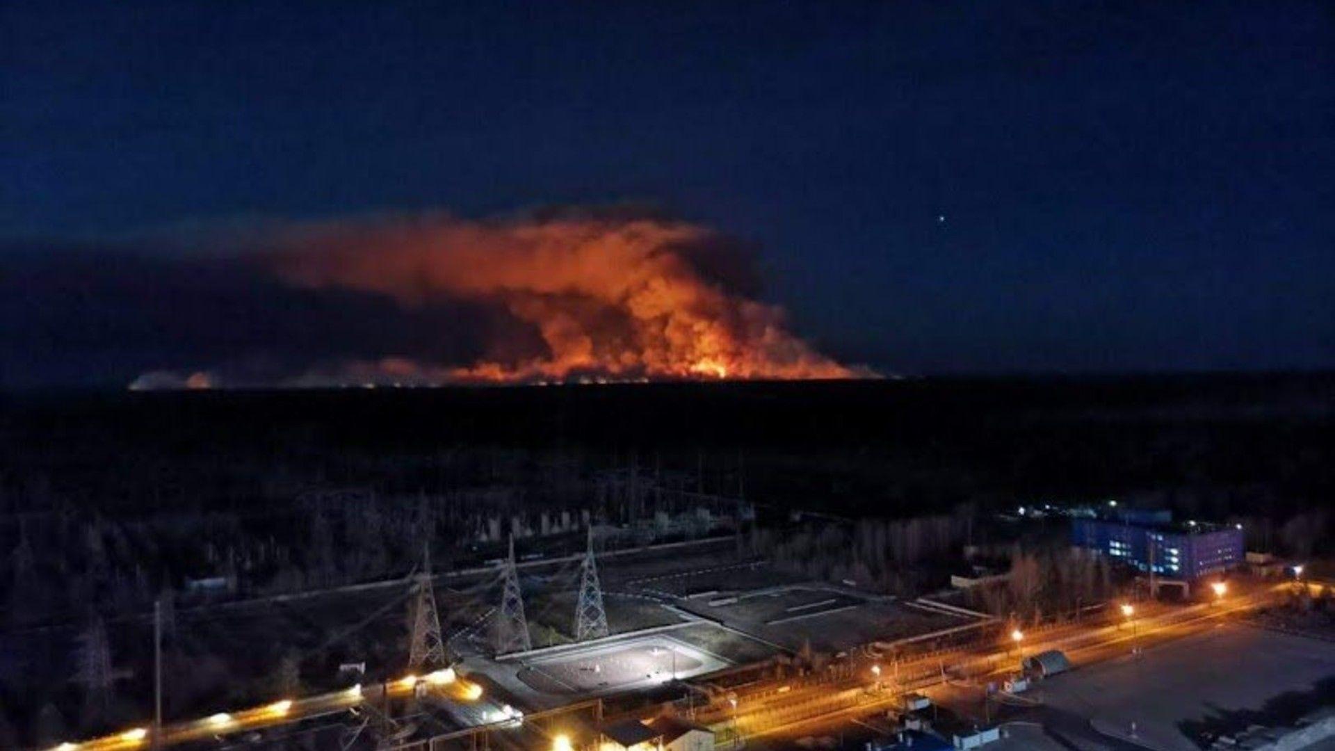 csernobil tűz kijev