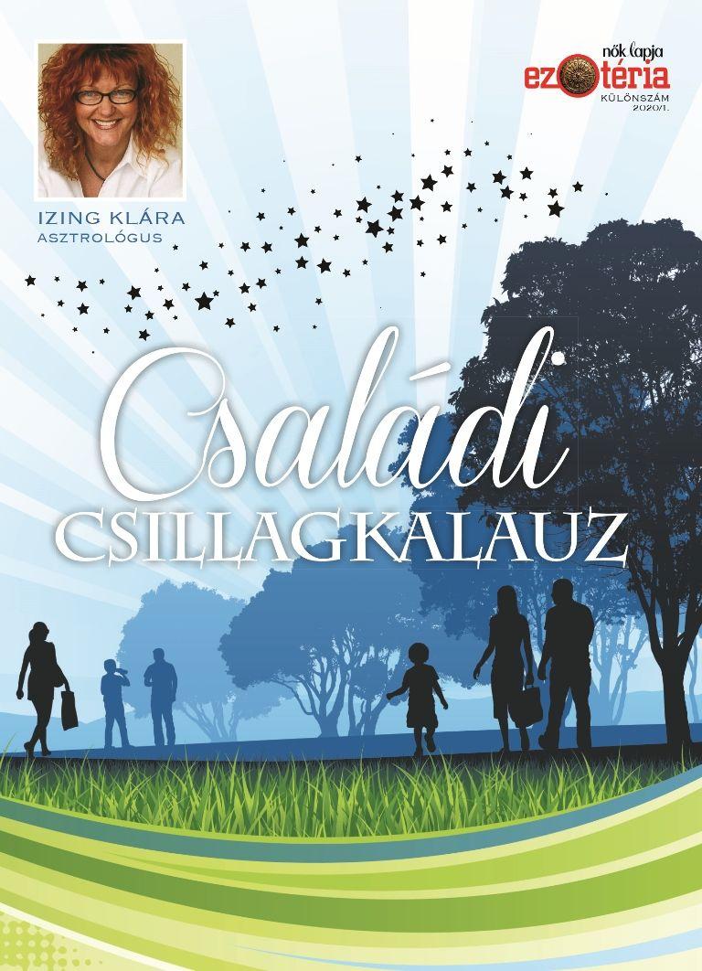 Ízing Klára asztrológus legújabb könyve a Családi csillagkalauz