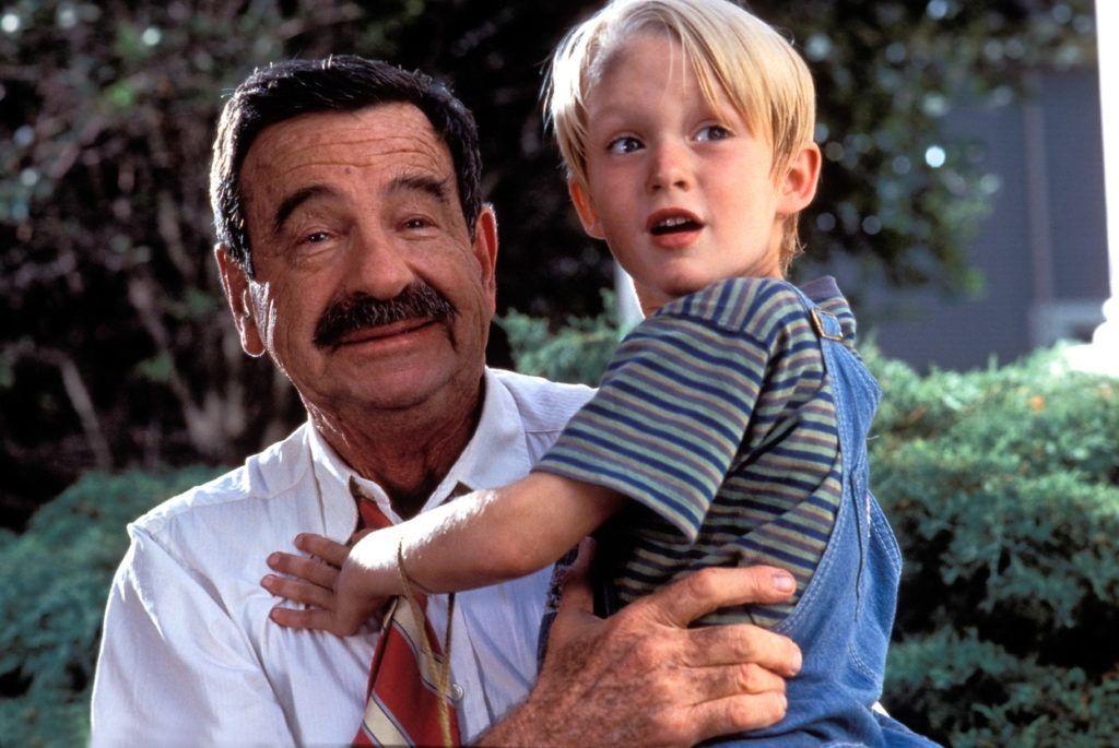 Walter Matthau, és Mason Gamble 1993-ban a Dennis, a komisz forgatásán (Fotó: The Hollywood Archive / Hollywood Archive / Profimedia)