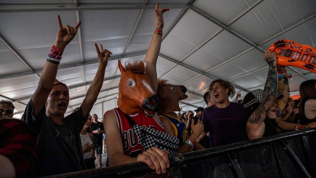 Közönség a tavalyi FEZEN fesztiválon