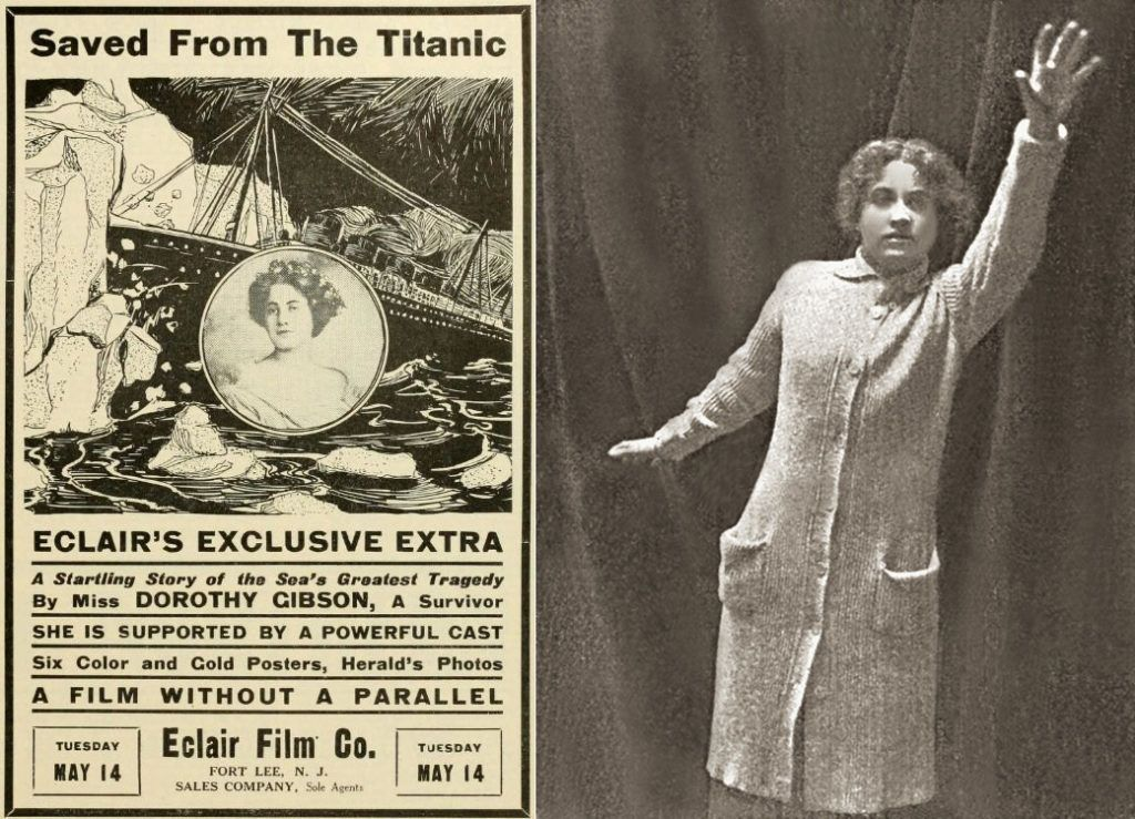 Dorothy Gibson a Saved From the Titanic c. némafilmben