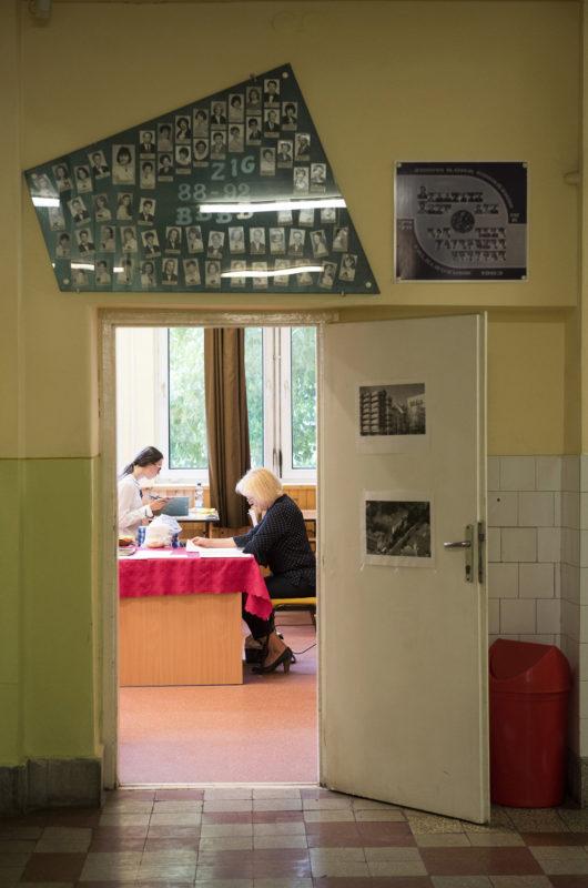 Elképzelhető, hogy csak az írásbeli vizsgákat tartják meg (MTI Fotó: Balázs Attila)
