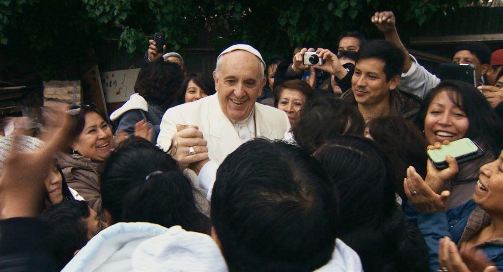 Ferenc pápa – Egy hiteles ember (Fotó: UPI)