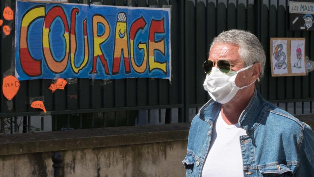 Koronavírus Franciaországban