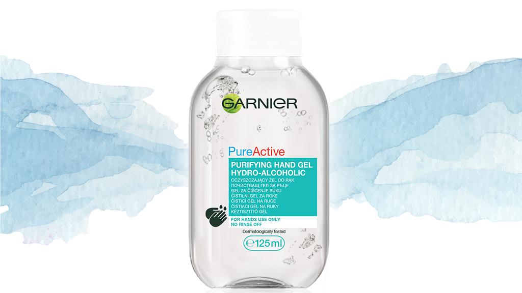 Garnier PureActive kéztisztító gél