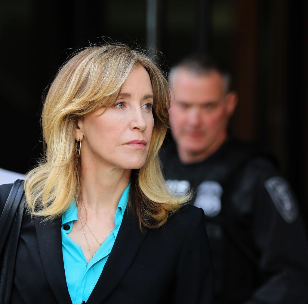 Nehéz időszak van a színésznő háta mögött. (Fotó: Pat Greenhouse/The Boston Globe via Getty Images)