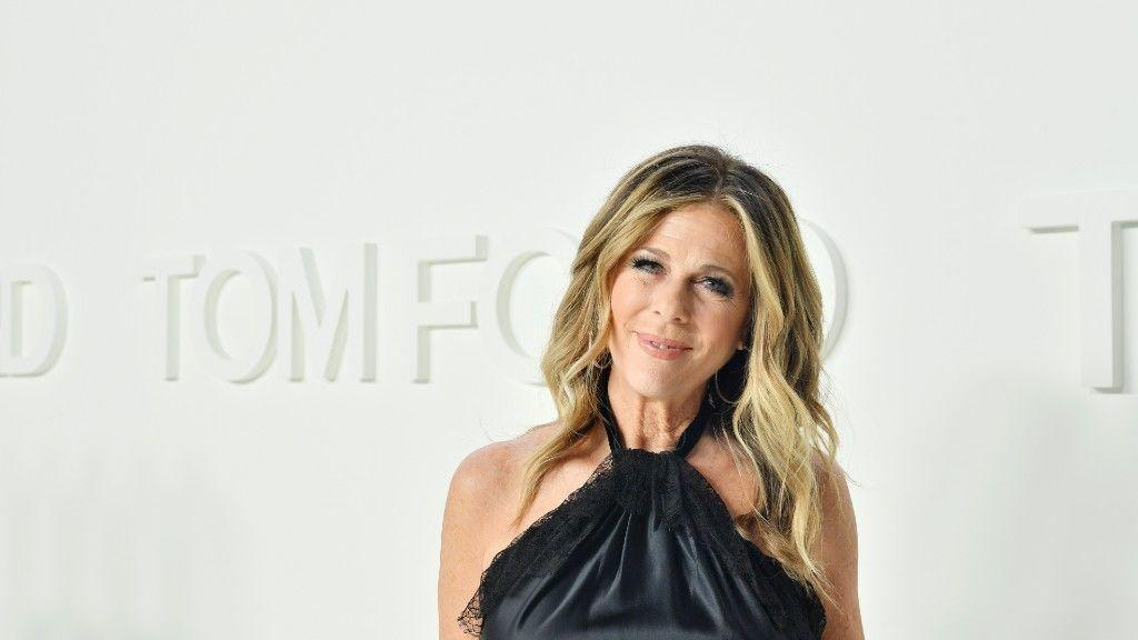 Rita Wilson Tom Ford februári divatbemutatóján (Getty Images)