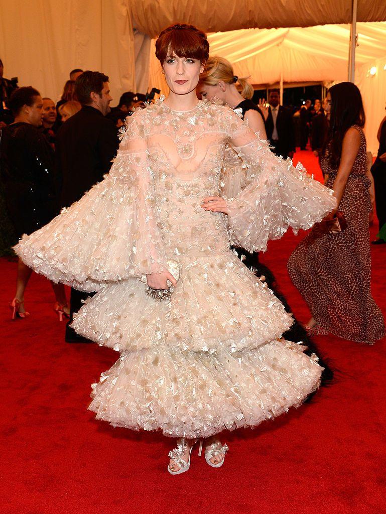 Florence Welch szettje 2012-ből