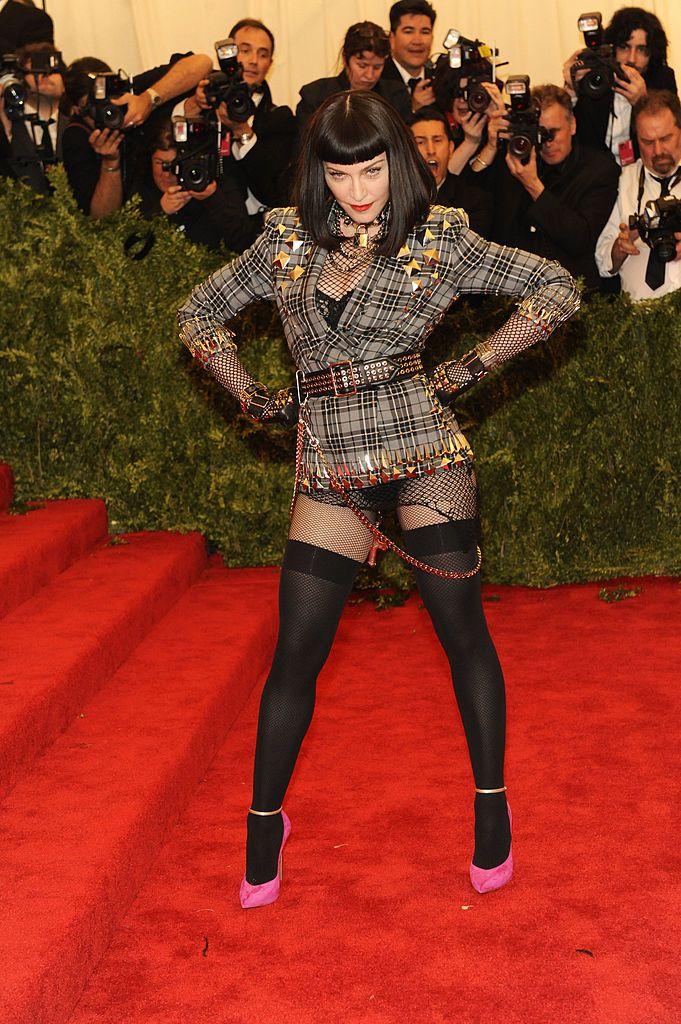 A punk Madonna 2013-ban