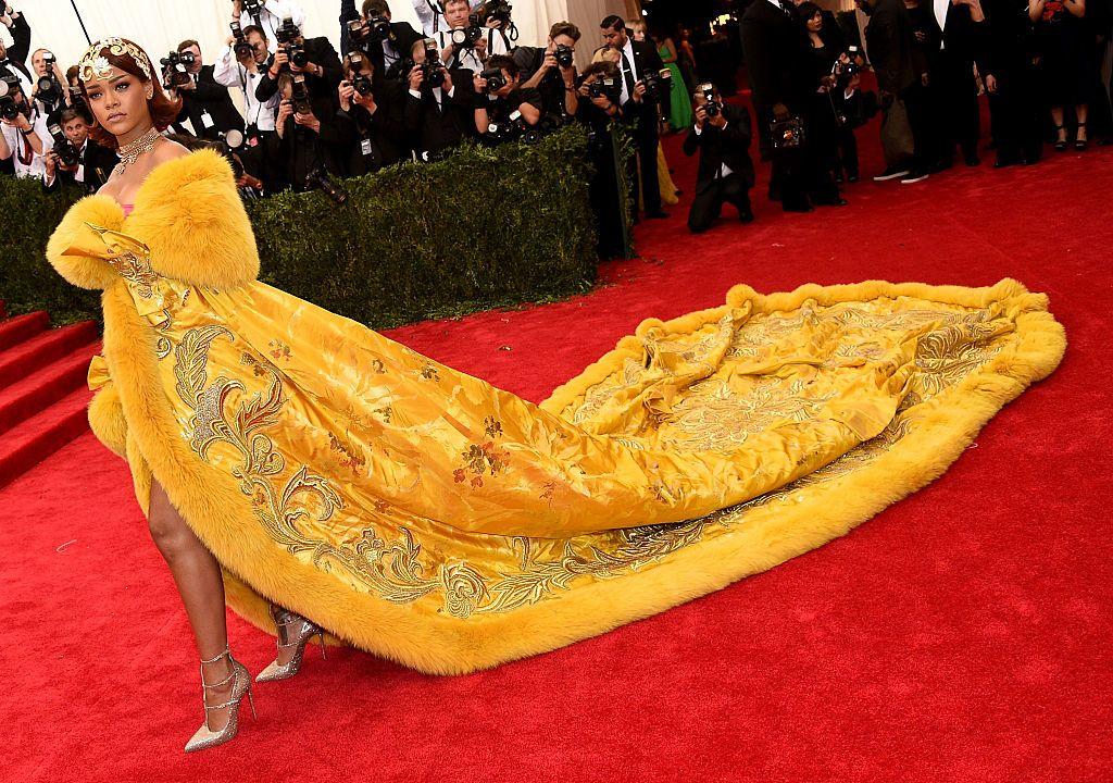 Rihanna a 2015-ös MET-gálán