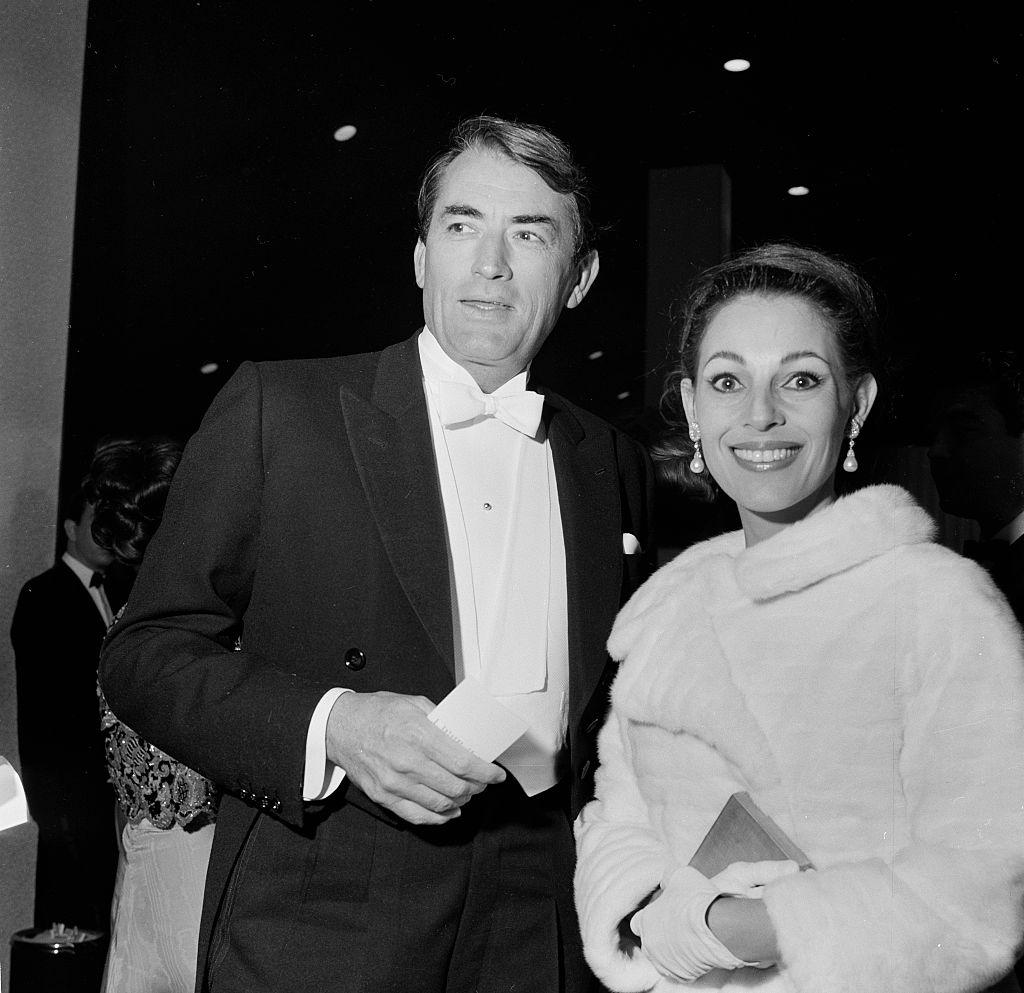 Gregory Peck és második felesége