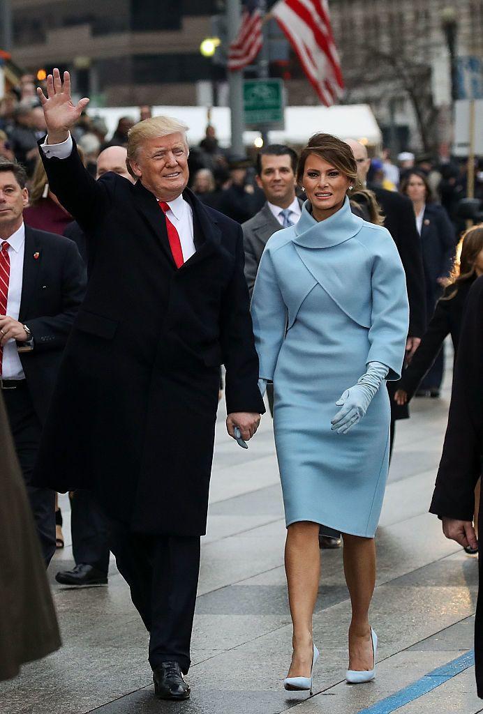 Donald Trump beiktatásának napján