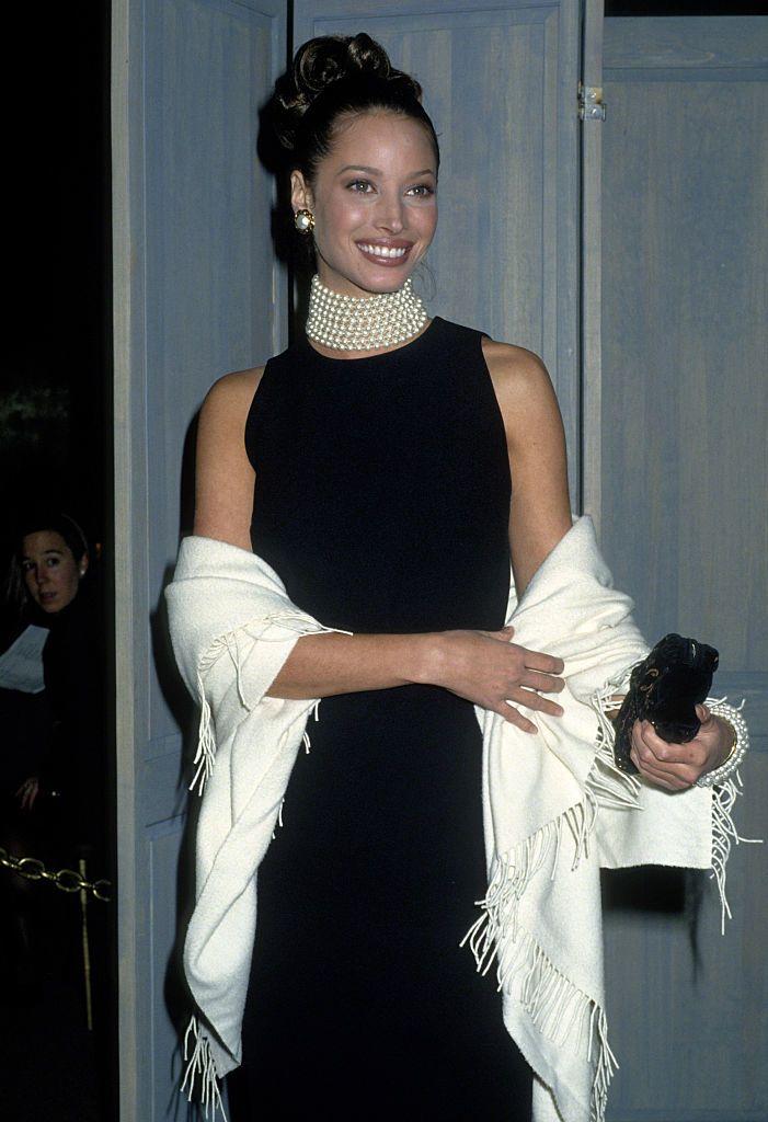 Christy Turlington Audry Hepburnként 1992-ben