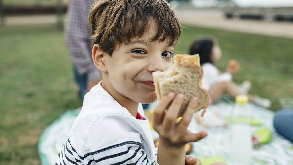 A jó pikniket szeretik a gyerekek.