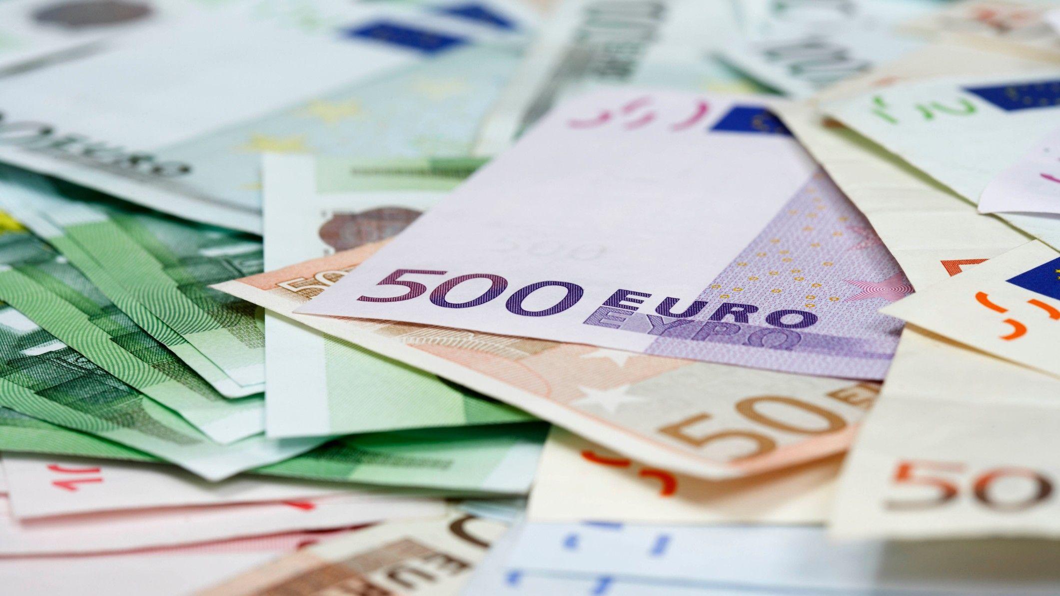 euró pénz bankjegy