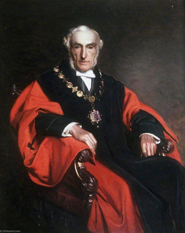 John Gwynne őrnagy, Henry Tanworth Wells festményén
