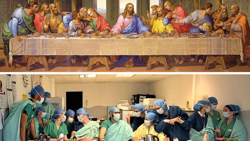 híres festmények újrajátszása