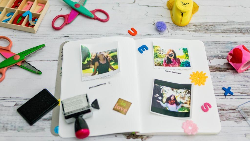 A scrapbook igazán kreatív és izgalmas hobbi (fotó: Getty)
