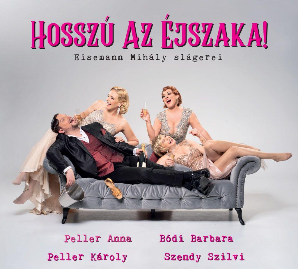 Peller Károly három színésznővel, Peller Annával, Bódi Barbival és Szendy Szilvivel dolgozott együtt (Fotó: Gordon Eszter)