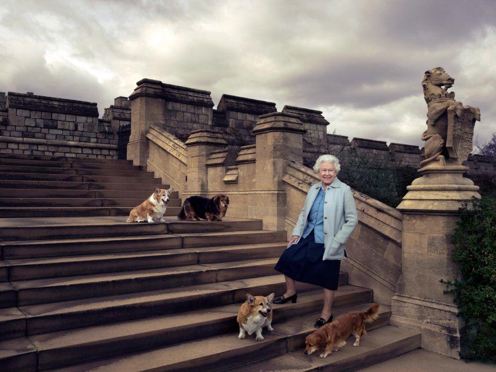 II. Erzsébet királynő 90. születésnapján