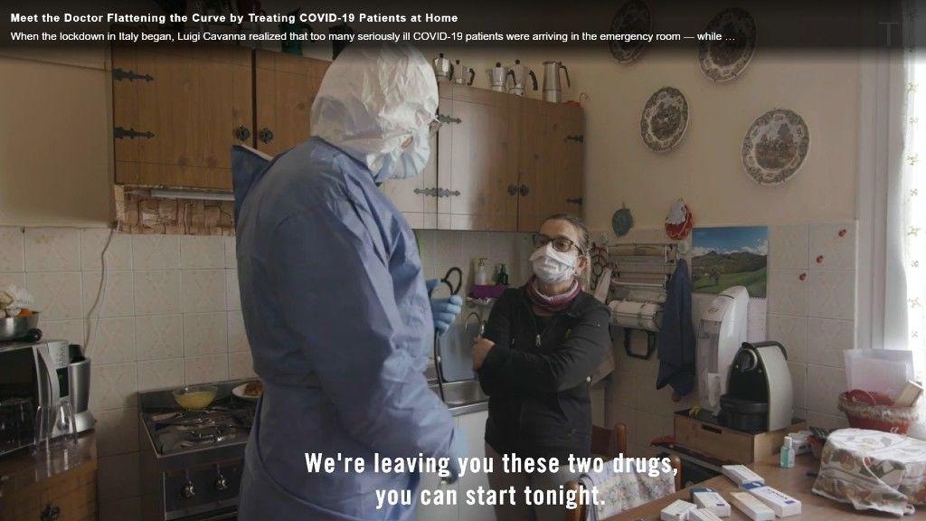 Olasz orvos: Megakadályozható lenne sok koronavírusos beteg állapotának súlyosbodása, ha már az otthonukban kapnának orvosi kezelést