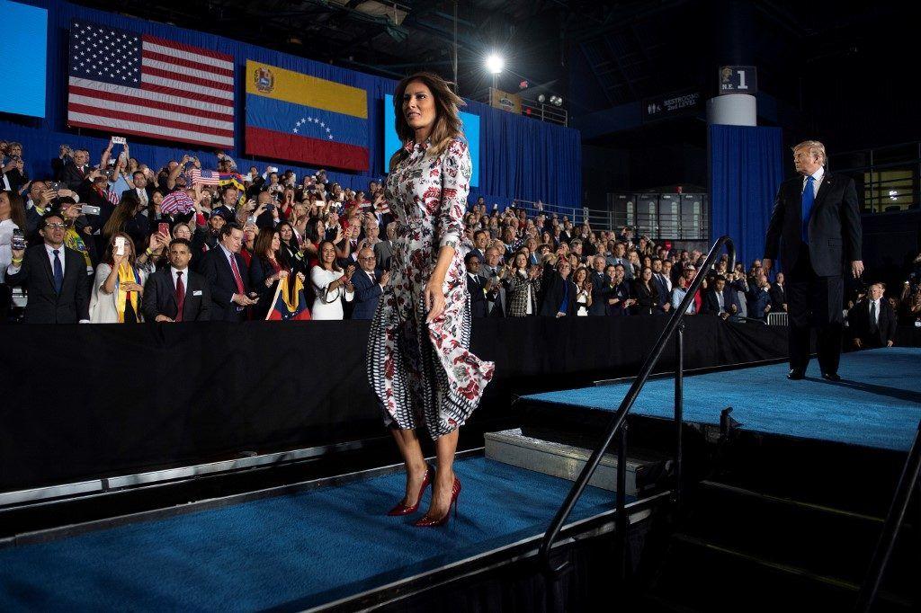 Melania Trump az Elnökök Napján