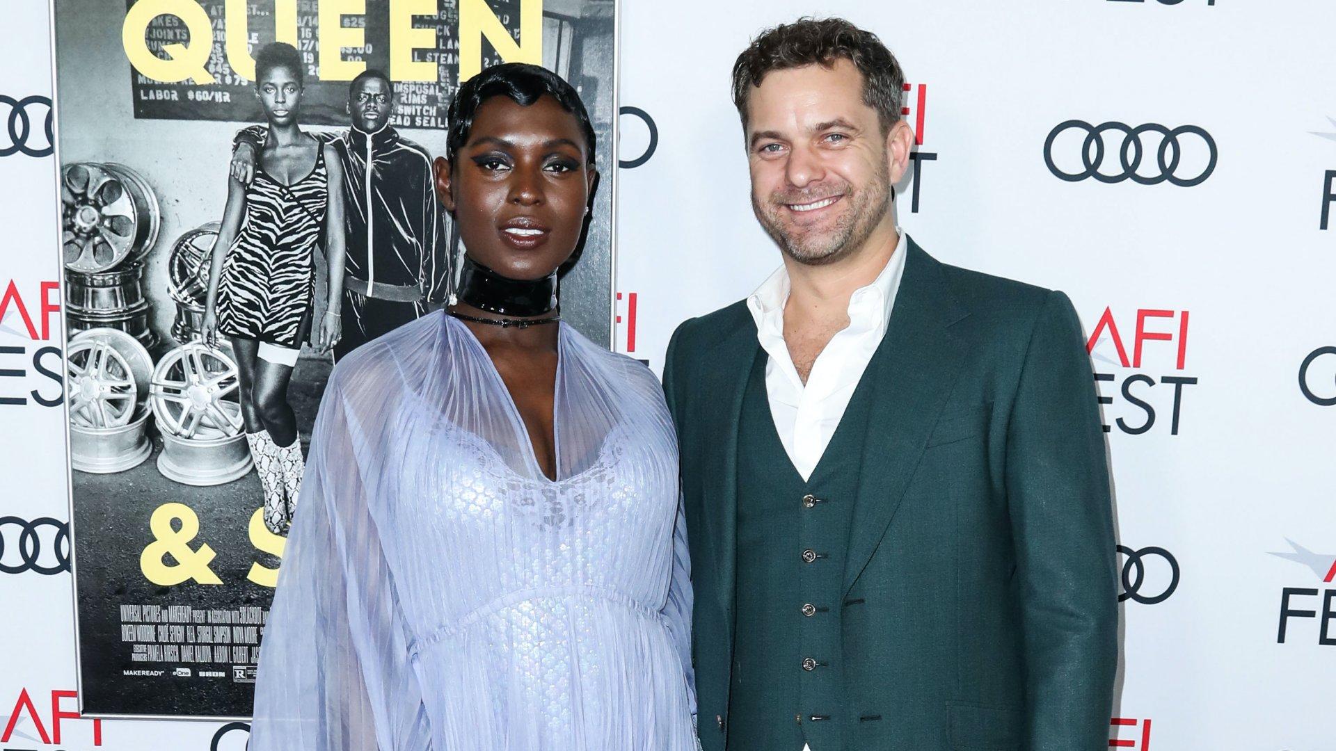 Joshua Jackson és felesége, Jodie Turner-Smith