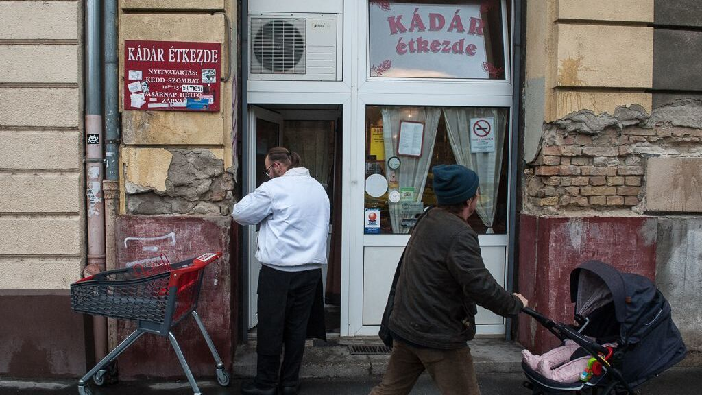 Eladó a legendás Kádár-étkezde.