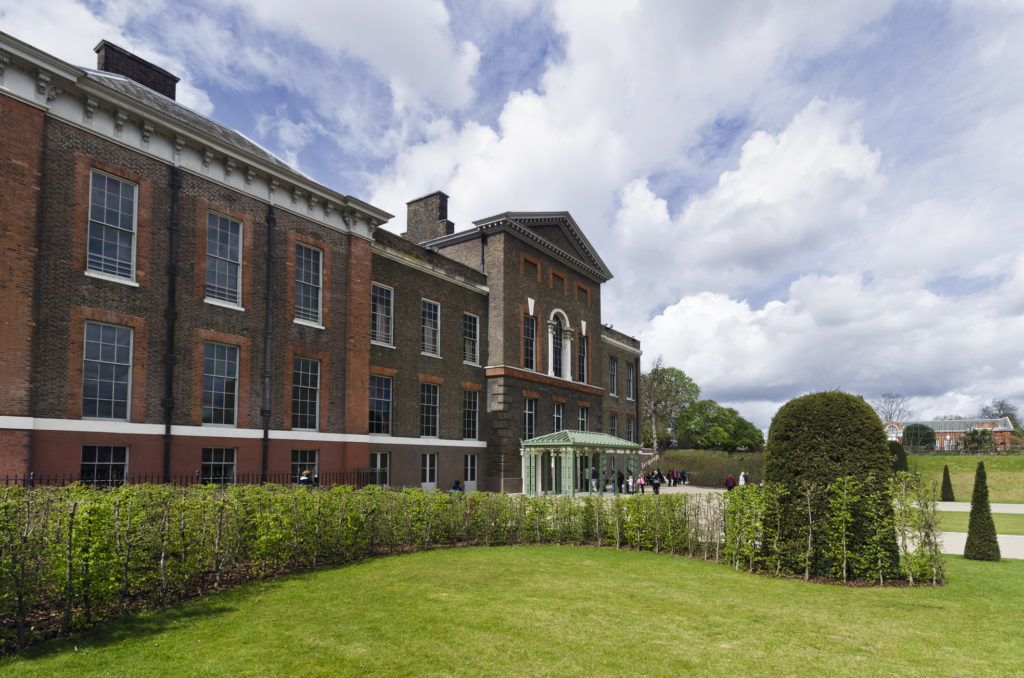 A Kensington palota (Fotó: getty images)