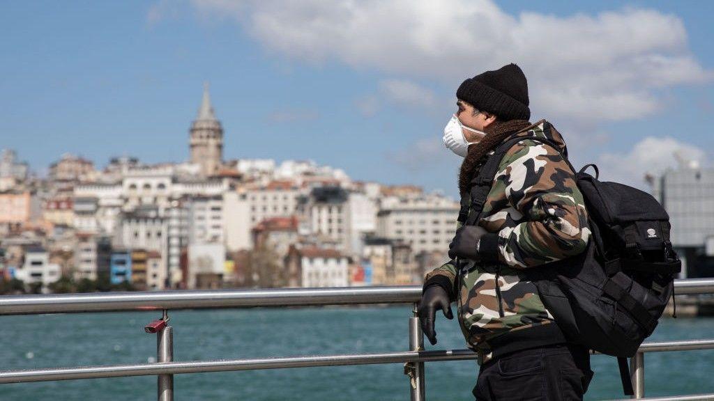 törökoszág isztambul koronavírus