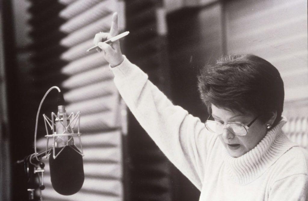 Archív kép Kertész Zsuzsa televíziós bemondónőről, pszichológusról (Fotó: smagpictures.com)